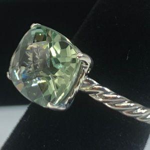 Used David Yurman Color Classics Prasiolite Ring